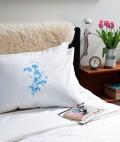 DIY Project: China Pattern Pillows - Design*Sponge