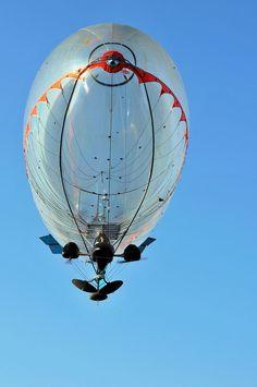 Another French project : Ballon dirigeable A-NSE en démonstration pour le compte de la Marine Nationale et de la DGA.