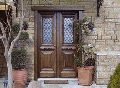 Beautiful residence.  Traditional Style  Double Leaf Security Door SabaDoor