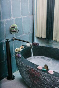 Amazing Hotel Bathtubs That Are Worth The Flight on domino.com