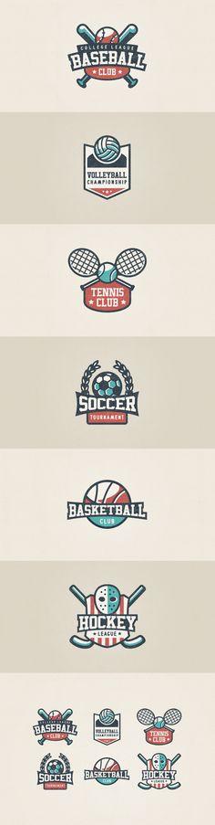 Sport Logo Set on Behance