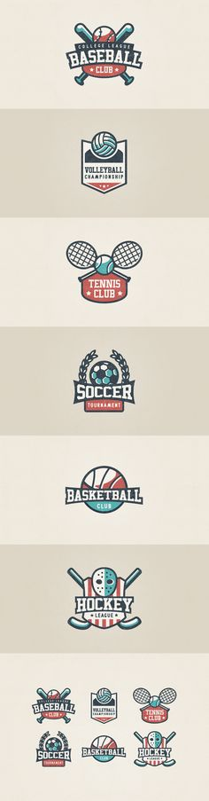 Sport Logo Set on Behance