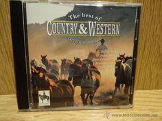 THE BEST OF COUNTRY & WESTERN. VARIOS ARTISTAS. CD / MCPS - 17 TEMAS / CALIDAD LUJO.