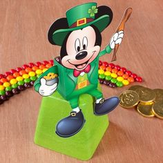 Mickey Mouse St. Patrick's Day Candy Box