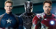 Very cool! - Black Panther, Captain America and Iron Man on the New EW Cover