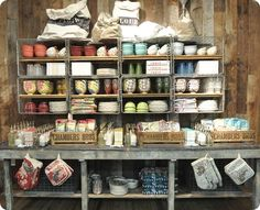 love this Anthropologie display