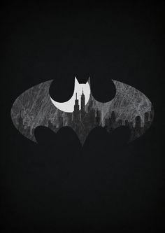 Posters minimalistas de heróis