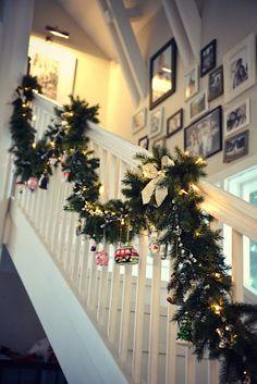 Kaunis köynnös jouluksi vaikka oviaukkoon - kaunis pieni elämä