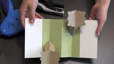 PU2 Spring Loaded Double Fold Pop-up Card