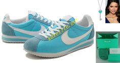 Discount Nike Classic Cortez Nylon Womens Tiffany Blue Charcoal Blue White 354698 411 For Sale Save up Off! thank youuuuu! Website for off nike shoes Tiffany Key Necklace, Tiffany Blue Shoes, Runing Shoes, Half Price Nikes, Nike Shoes, Sneakers Nike, Free Running Shoes, Nike Free Run 2, Nike Classic Cortez