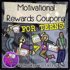 Your students will really enjoy being rewarded with these teenage appropriate coupons! They are the same size as standard index cards and come with cool teenage clip art. These work for any class and any subject and they are so simple to use! TES Teaching Resources