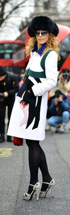 Miu Miu Coat London Fashion Fall 2014 Fashion Week Day 2