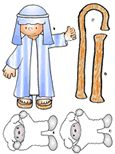 The printable pages in color are for the teacher to use during the lesson. Sheep and shepherd with rod and staff to use as stickers for the Little Lost Sheep story. Older Kids Crafts, Bible Crafts For Kids, Bible Study For Kids, Bible Lessons For Kids, Free Sunday School Lessons, Sunday School Crafts, School Fun, The Lost Sheep Activity, Kids Class