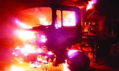 Nine Die In Lagos Crash, Mob Burns Truck