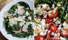 Low Carb Rezept für einen leckeren und frischen Frischer Rucola-Salat. Wenig Kohlenhydrate und einfach zum Nachkochen. Super für Diät/zum Abnehmen.