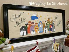 handpainted nativity scene tutorial