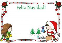 postal gratis de Navidad para niños