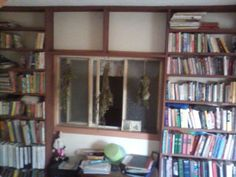 Our library! #books #building #library #shelves #construction