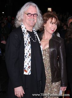 #BillyConnolly Wears A Butterfly #Scarf At Quartet Film Premiere