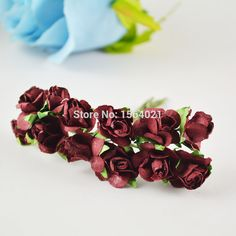 Find More Decorative Flowers & Wreaths Information about Wine red small mulberry paper flowers bouquets  paper rose flowers bunch,High Quality paper bags for clothes,China paper puzzles for kids Suppliers, Cheap paper flyer from YUGUO INDUSTRY AND TRADE LIMITED on Aliexpress.com
