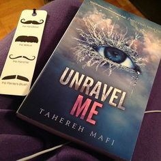 I finally got the second book to shatter me:) gunna stat reading it:) and omgg I'm in love with my new bookmark:) it's moustaches<3  #moustaches #bookmark #book #nerd #unravelme #shatterme #likeforlike #tagforlike #commentforlike  I finally got the second book to shatter me:) gunna stat reading it:) and omgg I'm in love with my new bookmark:) it's moustaches<3  #moustaches #bookmark #book #nerd #unravelme #shatterme #likeforlike #tagforlike #commentforlike