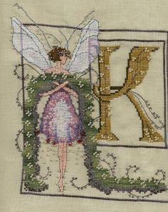 Fairy Letter K