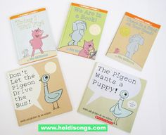 Mo Willems' Books