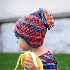 Little elves need something thick and warm to protect their ears in the winter.