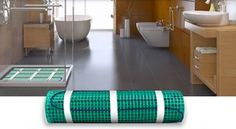 Pic Of Tile and stone floor heating systems from WarmlyYours are a luxurious way to add electric radiant heat to bathrooms kitchens or other rooms in your home