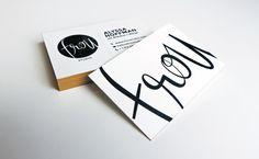 frou studio business cards