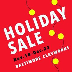 Im so thankful that the @baltimoreclayworks had opened again thanks to some amazing community members and artists. Last week I took over a box of brand new pots for their gallery Holiday Sale. Be sure to swing by and give them some support!! . . . #baltimoreartist #baltimoreclayworks #ceramics #pottery #studio #thankfulheart #communitymatters #grassrootsworks #holidaysale #shoplocal #handmade #potterymakingmamma #studiopottery #holidayprep