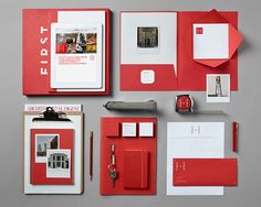 First & First Creative Real Estate Branding - Graphis
