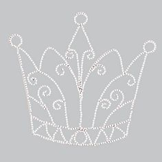 Wire Beaded Crown