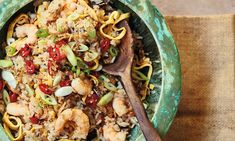 Ping Coombes's quick nyonya fried rice.