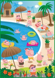 piggies in paradise