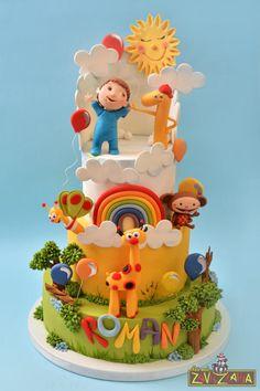 Baby TV Cake by Nasa Mala Zavrzlama