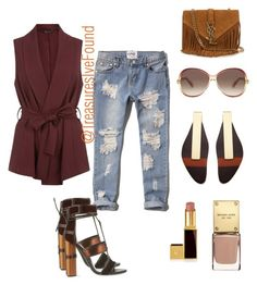 """""""Fall Shopping in Austin, Tx #Casual #OOTD #Jeans #MovieDate #MovieNight #Shopping #Sexy"""" by treasures-ive-found on Polyvore featuring Abercrombie & Fitch, Tom Ford, Marc Jacobs, Marni and Yves Saint Laurent"""