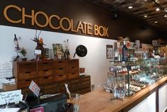Chocolate Box, Seattle, Washington; right by Pike Place Market; chocolates of all flavors: alcohol filled, balsamic vinegar, fennel sugar, and so much more. Or get yourself a cup of liquid chocolate.