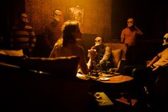 """Sleep no more"" at The McKittrick Hotel. I'm soo incredibly excited that I will have the chance to experience this."