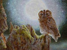 NIGHT BIRD BY HERMAN SMORENBURG