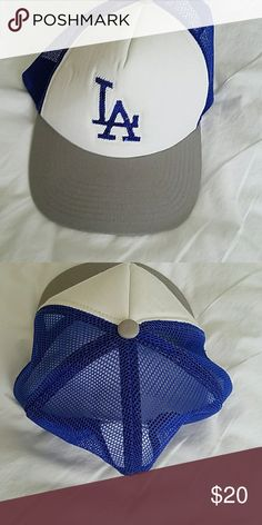 Women's L.A Hat Was gifted this women's L.A. Dodgers hat but not my style. Brand new. Trucker style. Los Angeles Dodgers Other