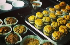 Flourless Peanut Butter Banana Muffins. Gastroparesis Friendly, Gluten Free, Dairy Free, Refined Sugar Free, Oil Free. Only 66 calories per mini muffin.