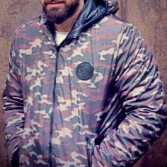 Camouflage coat! Look forward to great men's fashion like above! #fashion #mensfashion #menswear #style #streetstyle #mensstyle #instafashion  #menstyle #outfit #streetwear #instastyle #model #stylish #streetfashion #fashionista #lookbook #leather #fur #bestfashion @bestleatherfur #menfashionpost