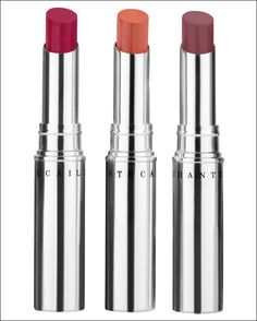 Chantecaille Hydra Chic lipstick in  Aster. A bright vibrant floral pink shade. Not too cool and not too warm, this pink emphasizes and brightens lips. $30