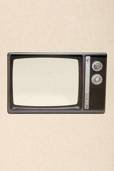 Miroir TV rétro