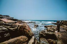 Rocks Near By The Ocean  Free Stock Photo
