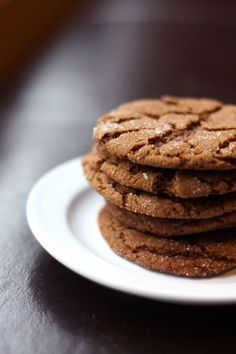 My favourite: Chewy ginger molasses cookies.