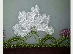 Latest lace models with crochet - Crochet Unique, Crochet Lace Edging, Crochet Borders, Cotton Crochet, Thread Crochet, Irish Crochet, Crochet Stitches, Weaving Projects, Knitting Projects