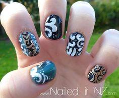 Nailed It NZ: Baroque nail art + nail art pen review http://www.naileditnz.com/2013/06/baroque-nail-art-nail-art-pen-review.html