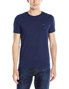 Tommy Hilfiger Denim Men's Original Crew Neck Short Sleeve T-Shirt
